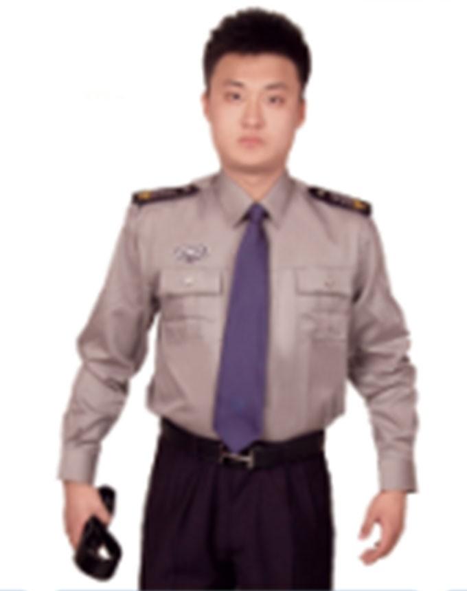 男保安服衬衣1